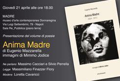 """Cacciari presenta """"Anima Madre"""" di Eugenio Mazzarella"""