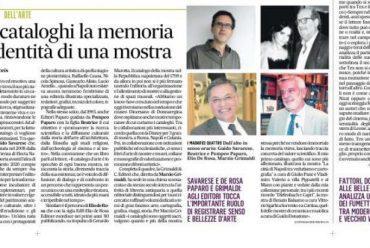 """Intervista de """"Il Mattino"""" a Editori Paparo"""
